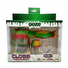 Clobb Silicone GlassWaterPipe & Nector Collector 4 in 1