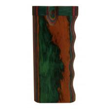"""Storage Tobacco 4"""" Wood Box Multi Colore Single Grip"""