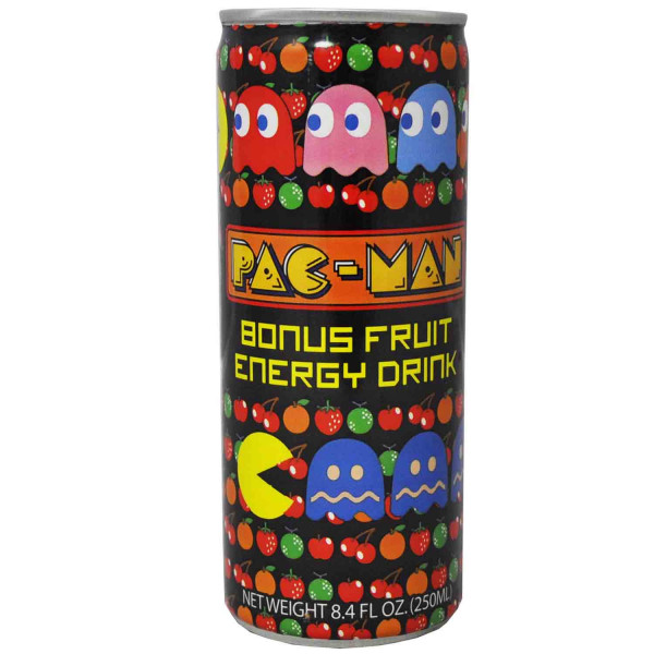 Safe Can Pac-Man Bonus Fruit Energy Drink