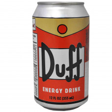 Safe Can Simpsons Duff Energy Drink