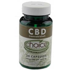 CBD Capsules Choice 25pc 10mg/pc