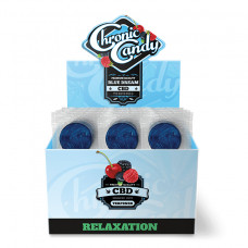 Chronic Candy Lollipop 60pc/ Box Blue Dream