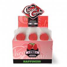 Chronic Candy Lollipop 60pc/ Box Strawberry