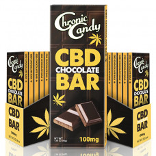 Chronic Candy CBD Chocolate Bar 100Mg