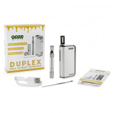 Ooze Duplex Dual Extract Vaporizer Kit - Silver