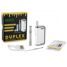 Ooze Duplex Dual Extract Vaporizer Kit - White