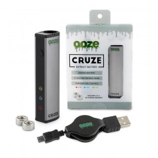 Ooze Cruze Extract Battery 650 Mah Temperature Control- Silve