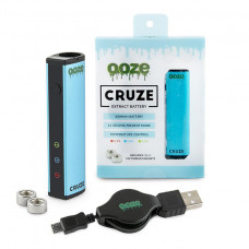 Ooze Cruze Extract Battery 650 Mah Temperature Control- Blue