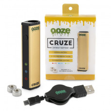 Ooze Cruze Extract Battery 650 Mah Temperature Control- Gold