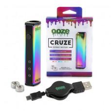 Ooze Cruze Extract Battery 650 Mah Temperature Control- Rainb