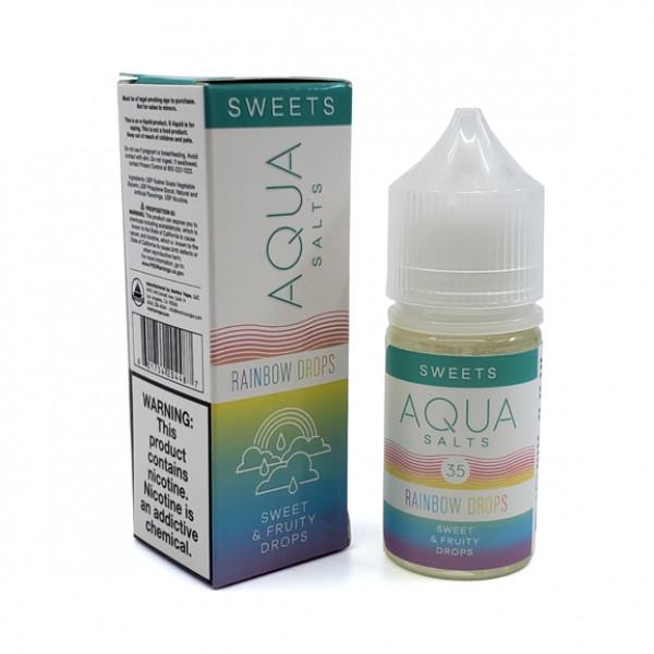 Aqua E-liquid Rainbow Drops Salt 30ml