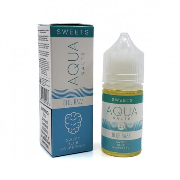 Aqua E-liquid Blue Razz salt 30ml 35mg Nicotine