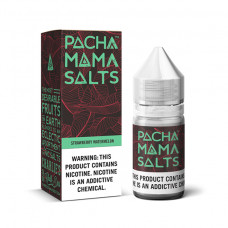 E-liquid  Pachamama Salt 50ml 25mg Nicotine S.berry watermelo