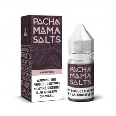E-liquid  Pachamama Salt 50ml 25mg Nicotine Strawberry Grape