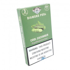 Diamond Pods Cool Cucumber Flv. 3p/pack