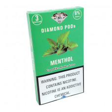 Diamond Pods Menthol Flv. 3p/pack