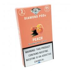 Diamond Pods Peach Flv. 3p/pack
