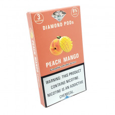 Diamond Pods Peach Mango Flv. 3p/pack