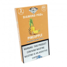 Diamond Pods Pineapple Flv. 3p/pack