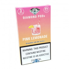 Diamond Pods Pink Lemonade Flv. 3p/pack