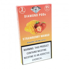 Diamond Pods Strawberry Mango Flv. 3p/pack