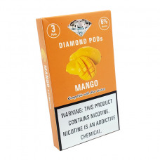 Diamond Pods Mango Flv. 3p/pack