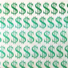Dollar Sign Zip Bag