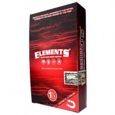 Rolling paper Elemnets hemp 1 1/4 magnetic closure 25/box