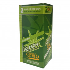 "Rolling Papers Kush Cone Wraps ""original"" 2pouch"
