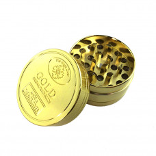 Grinder Metal 3pc 40mm Gold Coins Asst. Color