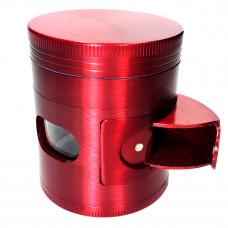 Grinder Metal 4pc 50mm w/Window Asst. Color