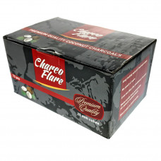 "Hookah Charcoal ""Charco Flare"" 1kg  72pc Per Box"