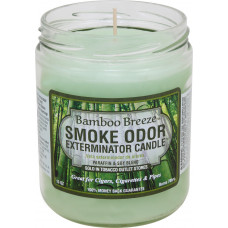 "Smoke Odor ""BAMBOO BREEZE"" Exterminator Candle"