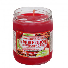 "Smoke Odor ""CINNAMON APPLE"" Exterminator Candle"