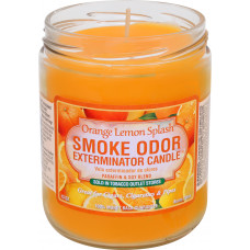 "Smoke Odor ""ORANGE LEMON SPLASH"" Exterminator Candle"